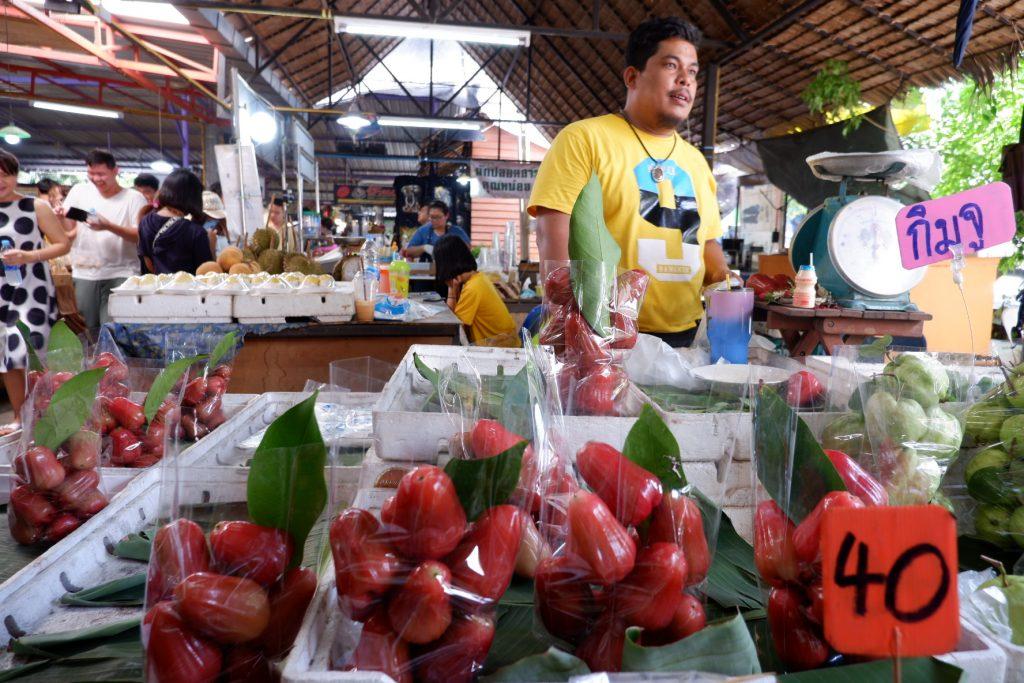 Fruit seller Klong Lat Mayom