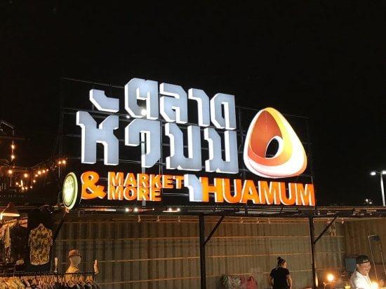 Hua Mum Bangkok market