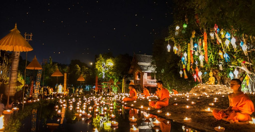 Thai festival Loy Khratong
