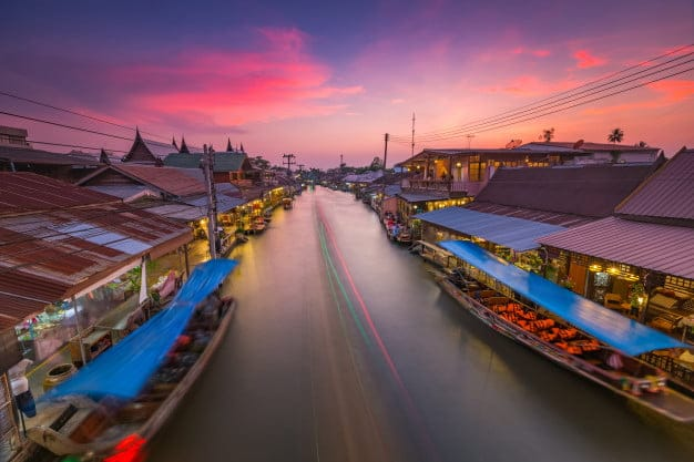 unusual destinations from Bangkok