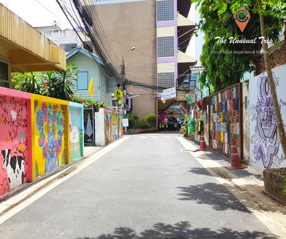 Hidden art trails in Bangkok