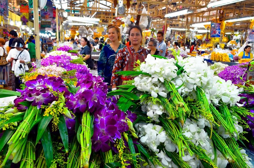 Pak Klong Market