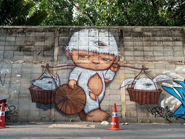GraffitiinBangkok