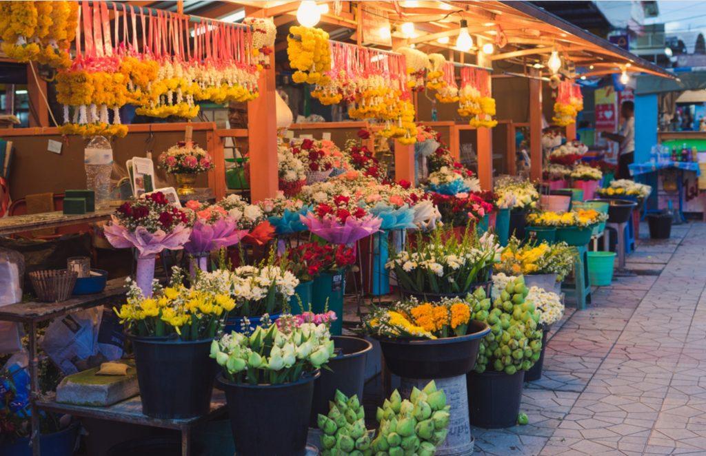Flower Market Bangkok