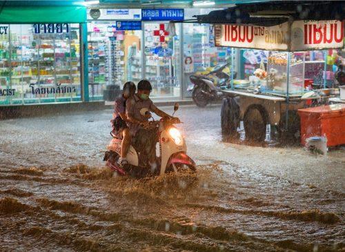 Bangkok rainy season